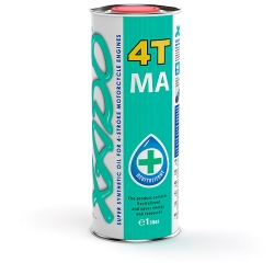 Масло XADO Atomic Oil 10W-40 4T MA SuperSynthetic
